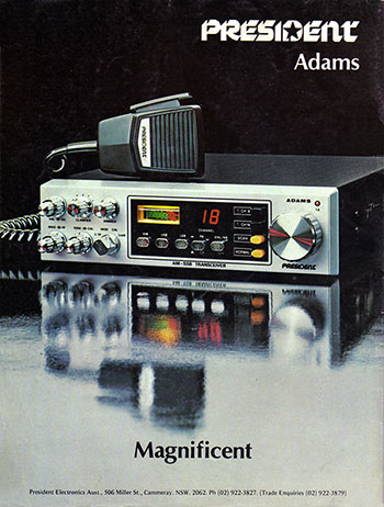 ADAMS AM/SSB 1978