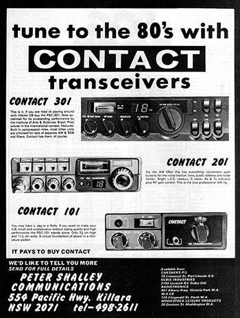 Contact Products 1980