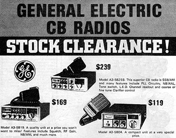 General Electric Products 1979