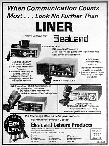 LINER Products 1977