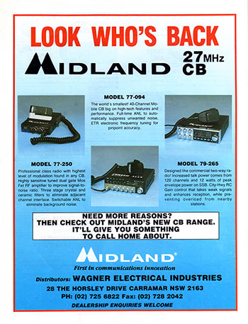 Midland Products 1991