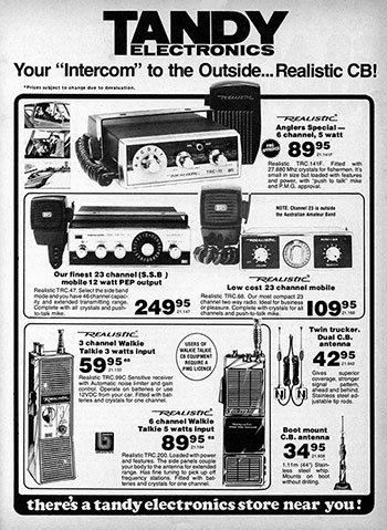 Realistic Products 1977