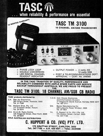 TASC TM 3100 AM/SSB 1978