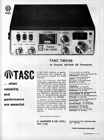 TASC TM-3100 AM/SSB 1978