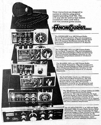 FANON Products 1977