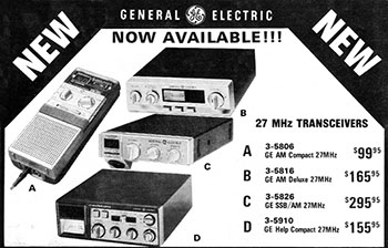 General Electric Products 1984