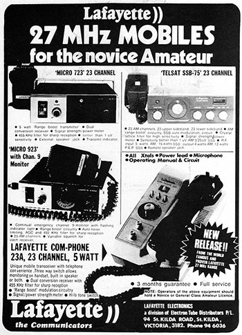 Lafayette Products 1977